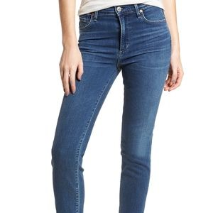 Citizens of Humanity Cara Ankle Cigarette Jeans 27